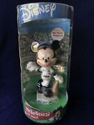 Toronto Blue Jays Mickey Mouse Bobblehead Nib Disney Agp 2002