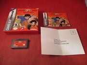 Jackie Chan Adventures Legend Of The Dark Hand Game Boy Advance Complete W/ Box
