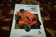 Allis Chalmers Lawn And Garden Tractors For 1978 Brochure Cgpa