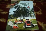 Allis Chalmers Lawn And Garden Tractors For 1974 Brochure Cgpa