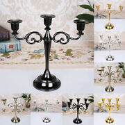 Retro Desktop Candle Holder Home Decor Gift Party Candlestick Candlelight Dinner