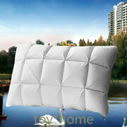 Luxury 95 Goose Down Pillow/3d Neck With And 100 Cotton Pillows Cover Pillow