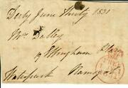 3rd Baron Waterpark Henry Cavendish Signed Free Frank Dated 1831 Mueller Coa