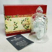 Waterford Crystal 2003 Songs Of Christmas Annual Bell 8th In Series New In Box