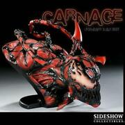 sideshow Collectibles Marvel Spider Man Carnage Legendary Scale Bust Toy Figure