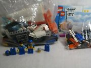 Lego City Coast Guard 7737 4wd Jet Scooter And 7738 Helicopter