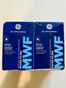 Mwf Water Filter For Ge Refrigerators 2 Pk Genuine Ge Appliance Filter New