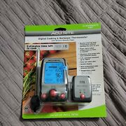 Acurite Digital Cooking And Barbeque Thermometer With Wireless Remote Pager New