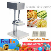 French Fry Potato Cutter Machine Automatic Potato Cutter110v Stainless Steel