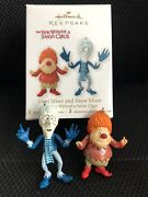 Hallmark 2012 The Year Without A Santa Claus Heat Miser And Snow Miser Ornament