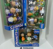 Lot All Star Peanuts Baseball Figure Toy Charlie Snoopy Linus Lucy Sally Patty