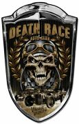 Hot Rod Grill New Metal Sign 24 X 36 American Steel Death Race Vintage Velocity