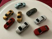 N Scale Cars Automobiles Lot 1 Colors May Vary