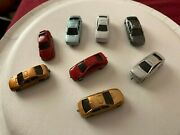 N Scale Cars Automobiles Lot 2 Colors May Vary