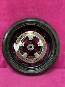 """Harley Livewire 17"""" Front Wheel Mag Rotors Blem Scuff Dyna Fxr Sportster Oem"""