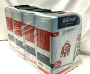 4 Boxes Miele Fjm Vacuum Bags 3d Airclean Efficiency Dust 16 Bags And 8 Filters