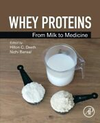 Whey Proteins New Elsevier Science Publishing Co Inc Paperback Softback