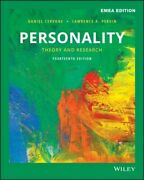 Personality New Cervone Daniel John Wiley And Sons Inc Paperback Softback
