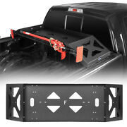 Steel Truck Trunk Bed Cargo Rack W/ Hi-lift Jack Mount For 2009-2014 Ford F-150