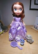 Disney Sofia The First Talking Sofia And Animal Friends Pre Owned