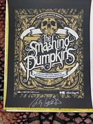 The Smashing Pumpkins Billy Corbin Rare Autographed Coa Event Poster 1 Of 60