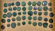Lot Of 50 Ancient Roman And Other Coins All Shown 1a