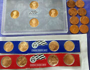 2009 Lincoln S/p/d Complete Bicentennial 20 Coin Proof/satin/business Cent Set