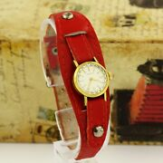 1960and039s Vintage Zenith Swiss Made Womenand039s Gold Plated Wristwatch Cal. Zenith 1110