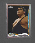 2014 Topps Chrome Wwe Refractor Andre The Giant 96