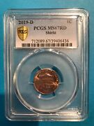 2019-d Lincoln Union Cent Pcgs Ms67rd Gold Shield True View 39406436
