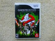 Ghostbusters The Video Game Nintendo Wii, 2009 Complete  Near Mint Disc