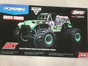 Losi Lmt Grave Digger Rtr 1/10 4wd Solid Axle Monster Truck W/dx3 Los04021t1 New