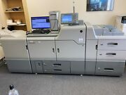 The Ricoh Pro C751 Full Color With Booklet Maker Cannon, Konica, Xerox Excellent