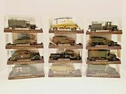 Solido Overlord 89 Full Collection Of 12 Limited Edition Military Vehicles New