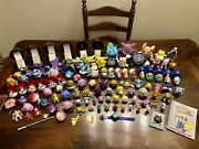 Pokemon Lot - Complete Set Of Burger King Toys And More 6 Gold Plated Cards