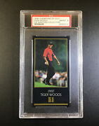 Tiger Woods1997 Masters Collection Champions Psa-8 Nmmt Hot 1998 Rookie Rc Card