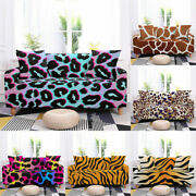 Animal Skin Leopard Print Tiger Pattern Slipcovers Elastic Couch Cover Furniture