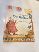 Tomie Depaola Signed Book Old Befana