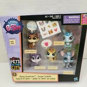 Littlest Pet Shop Pets In The City Dining Downtown Sticker 62 66 Lps New
