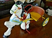 Mobo 1940's Pedal Toy Horse And Buggy Nice Condition Shipping Possible