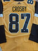 Sidney Crosby Signed Pittsburgh Penguins 3rd Model Pro Adidas Jersey