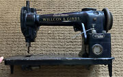 1872 Willcox And Gibbs Automatic Lubrication High Speed Industrial Sewing Machine