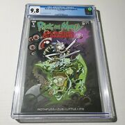 Rick And Morty Vs Dungeons Dragons 1 Cgc 9.8 White Pages Troy Little Cover 8/18