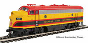 Walthers-emd F7 A - Esu Sound And Dcc -- Kansas City Southern 2 Meridian Belle