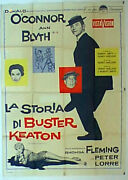 The Buster Keaton Story / Donals Oandrsquoconnor / 1957 / Sidney Sheldom / Movie Poste
