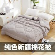 Xinjiang Cotton Quilt Dormitory Cotton Winter Quilt Single Double Quilt Core