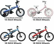 Segway Ninebot Kids Bike For Boys And Girls 14 Inch With Training Wheels 14...