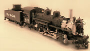 On3 Brass Berlyn Loco Denver And Rio Grande Western K28 2-8-2 476 Factory Paint
