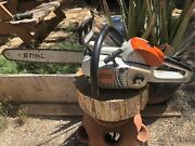 """Stihl Ms201c Chainsaw With 16"""" Bar And Chain"""