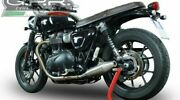 Triumph Street Twin 900 Silencer Vintacone Stainless Slip-ons By Gpr 2015/17